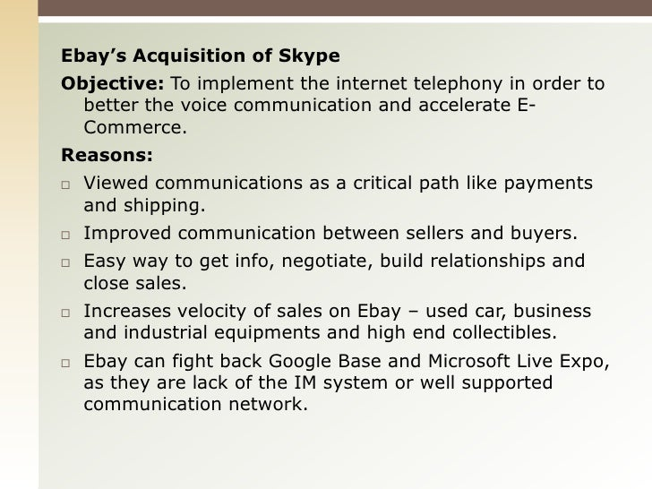 ebay e-business case study Find great deals on ebay for case studies and bag studies shop with confidence.