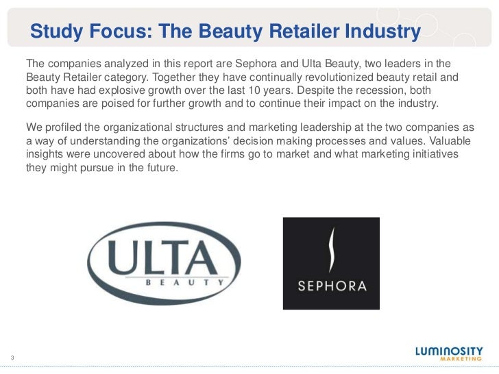 The Competitive Culture Map: Sephora & Ulta Beauty