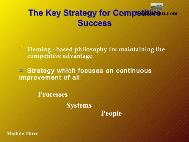 implementing continuous improvement systems The 5 steps to launching a continuous improvement program posted on february 27, 2015 by all measures, walmart is enormous currently ranked as the largest company in the world based on revenue, it is also the world's largest private employer with over two million employees one of the ways walmart has stayed ahead of the.