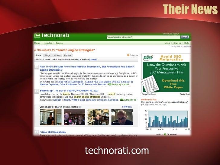 Their News technorati.com