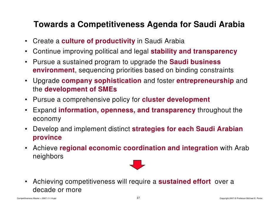 Strategies for smes in saudi arabia