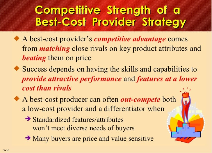 best buy low cost provider differentiation or best cost strategy How would you characterize best buy's competitive strategy should it be classified as a low-cost provider strategy, a differentiation strategy, or a best-cost strategy which one of the five generic competitive strategies best characterizes best buy.