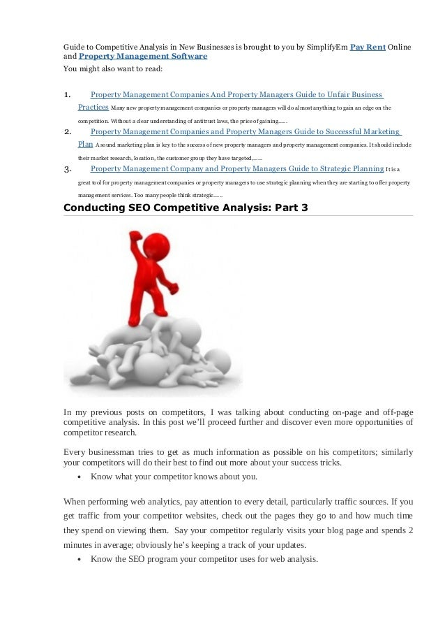 competitor analysis pdf
