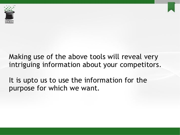 nw toolbox competitive analysis Our step-by-step guide walks you through how to visualize your market and break down your competition free competitive analysis template included.