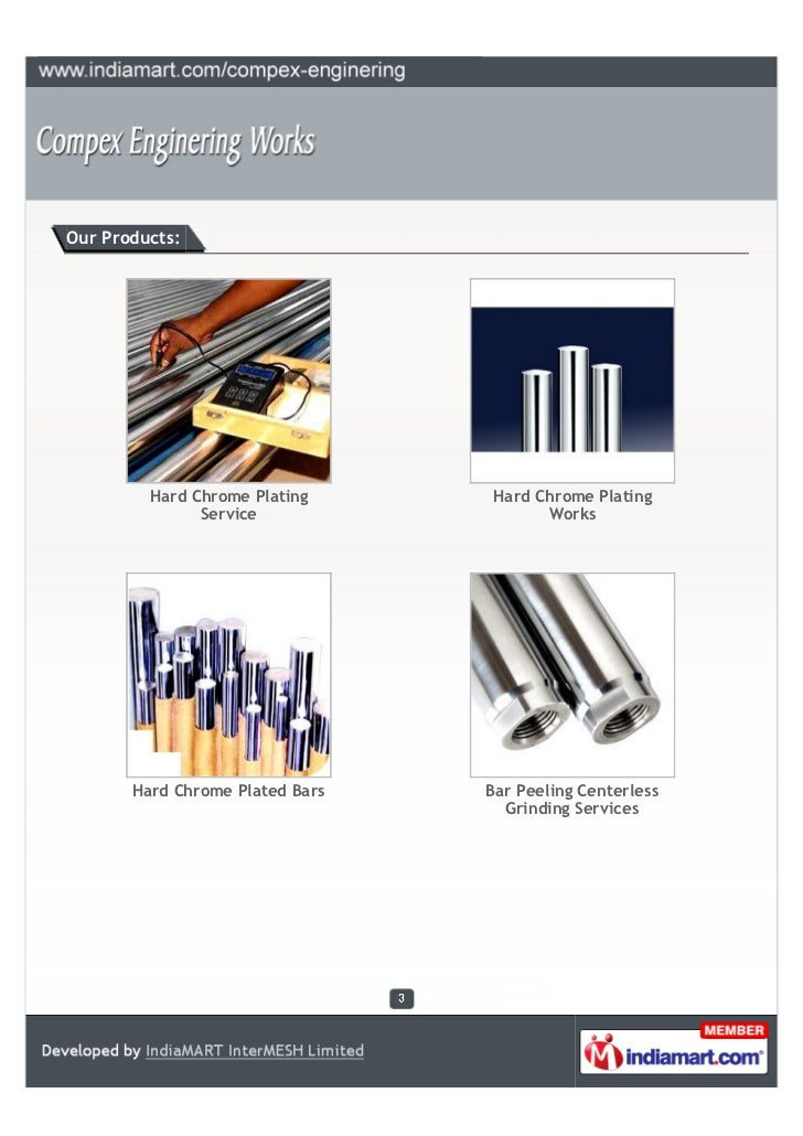 Our Products:         Hard Chrome Plating      Hard Chrome Plating               Service                  Works       Hard...