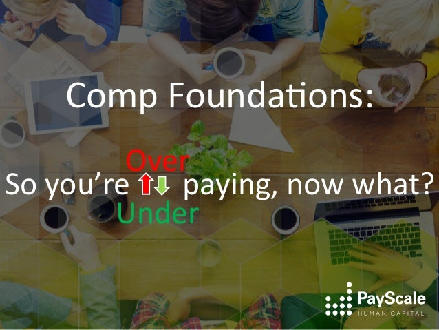 Comp  Founda+ons:      So  you're              paying,  now  what?   Over           ...