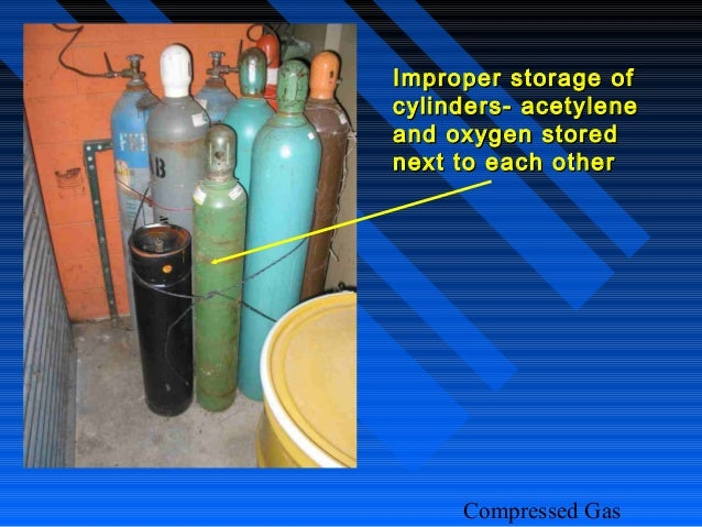 Compressed Gas Cil Safety