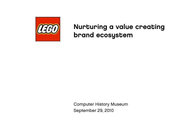 Nurturing a value creating                brand ecosystem    Fo s te rin g Bra n d Co m m u n ity va lu e c re a tio n    ...