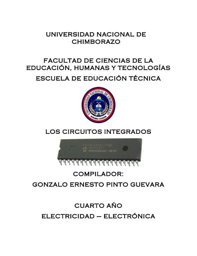UNIVERSIDAD NACIONAL DE CHIMBORAZO FACULTAD DE CIENCIAS DE LA EDUCACIÓN, HUMANAS Y TECNOLOGÍAS ESCUELA DE EDUCACIÓN TÉCNIC...