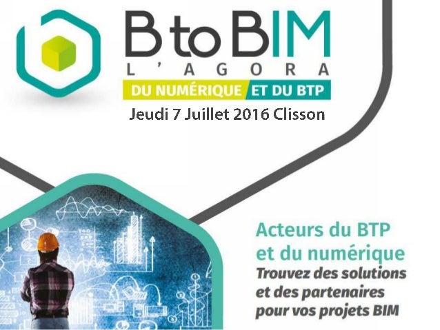 12 h15 : Présentation du nouveau produit CARABIM, le cadenceur de vos chantiers • Julien COTTEAUX, ARCHIREPORT 12h30 : BIM...