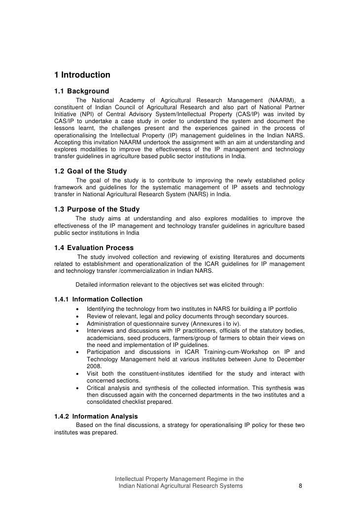 Hps institutionalization process essay