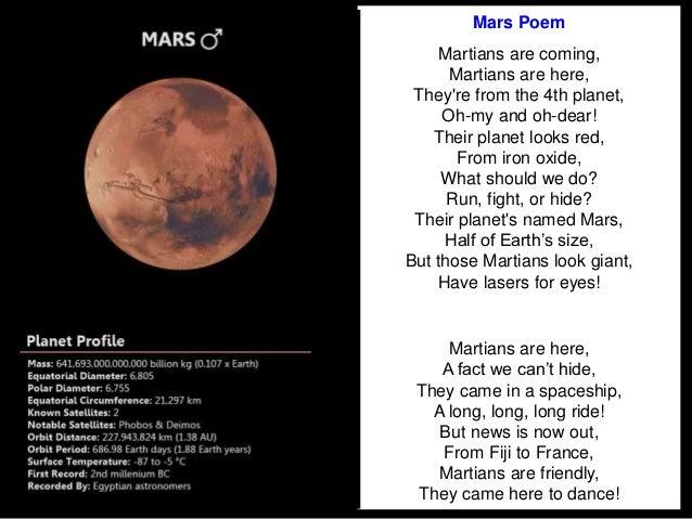 classroom solar system poem - photo #25