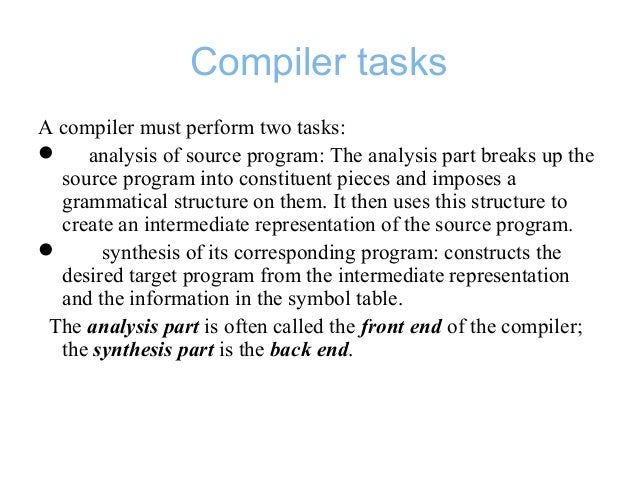 compiler phases Conversion of code from high-level into machine level language includes multiple phases let's check, what are the 6 phases of compiler with example.