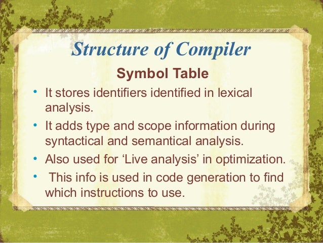JLex: A Lexical Analyzer Generator for Java(TM)