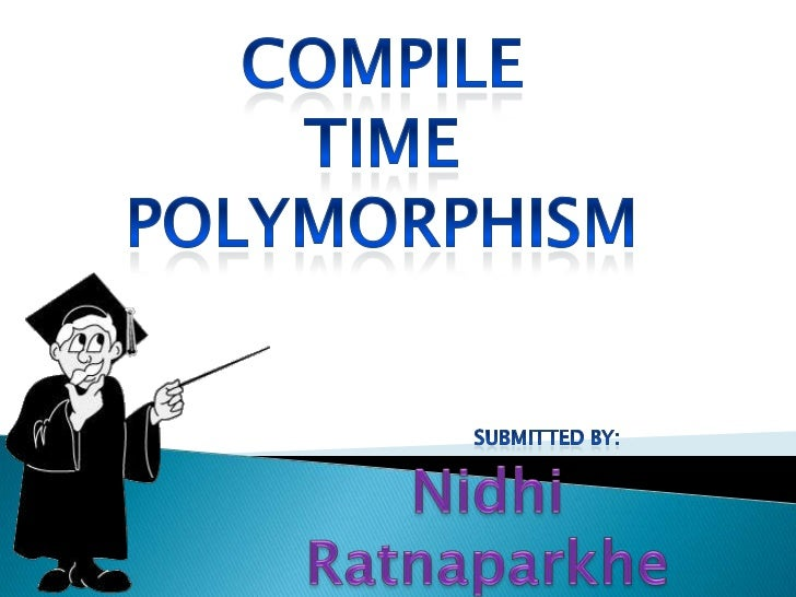 " Polymorphism  means ""many forms"".     Polymorphism means ability to take      more than one form.     C++ implements p..."