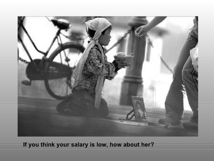If you think your salary is low, how about her?