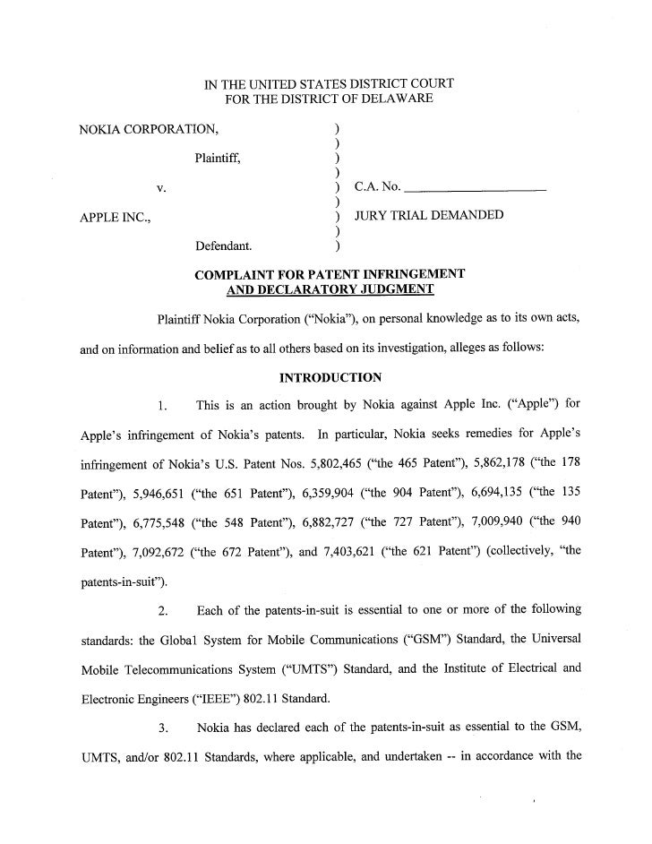 Case 2:10-cv-00091 Document         1        Filed 03116110 Page 1 of 38                                   IN THE UNITED S...