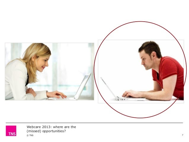 Webcare 2013: where are the (missed) opportunities? © TNS  7