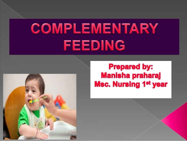 Breast feeding alone is adequate to maintain growth and development up to 6 months. And complementary feeding should be gi...