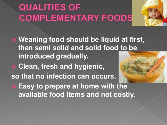 Complementary feeding ppt 12 forumfinder Image collections