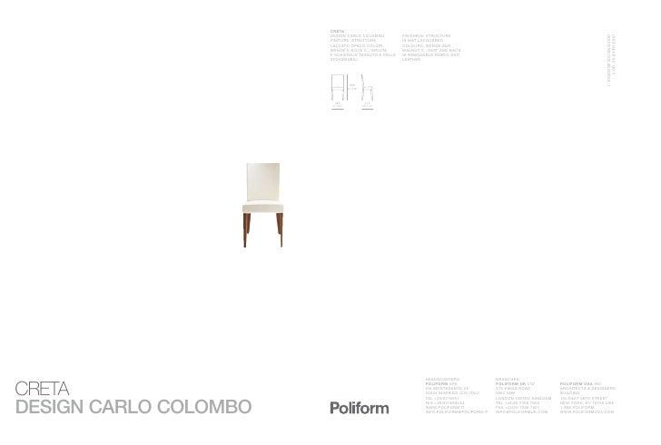 CRETA DESIGN CARLO COLOMBO