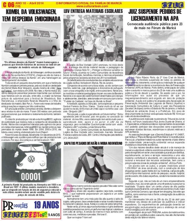 INFORMAÇÃO COMPLETA 95 abril 2014