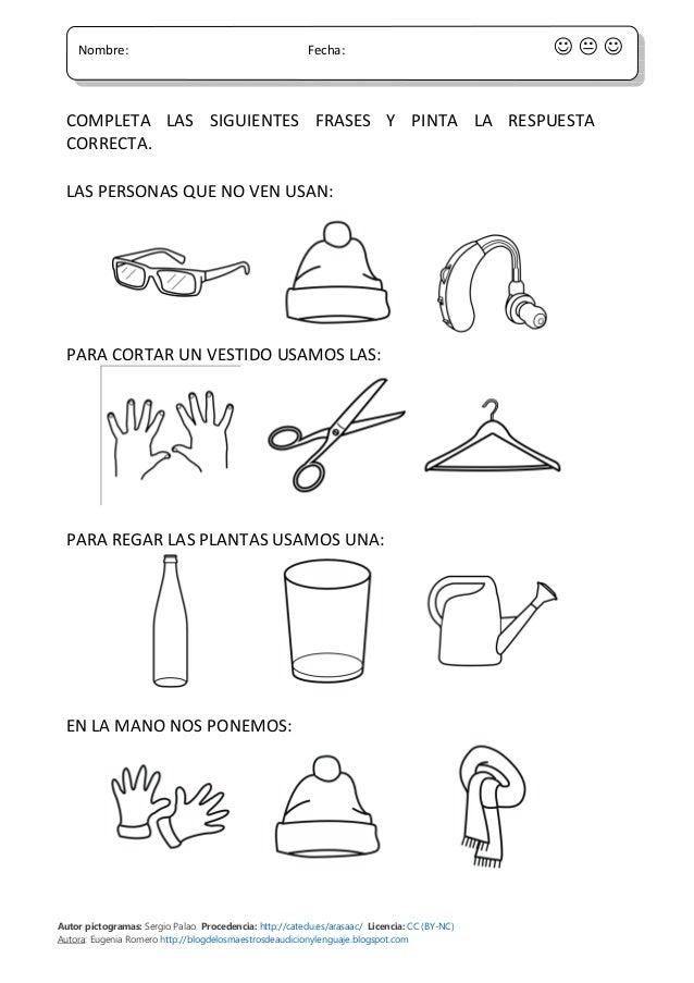 Autor pictogramas: Sergio Palao Procedencia: http://catedu.es/arasaac/ Licencia: CC (BY-NC) Autora: Eugenia Romero http://...