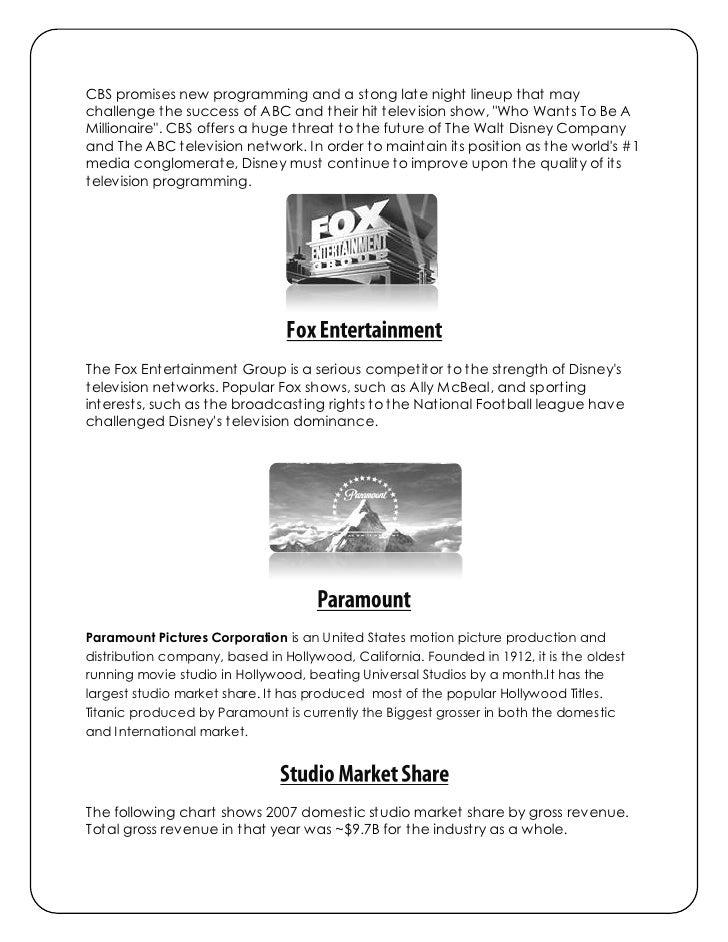 disney marketing analysis