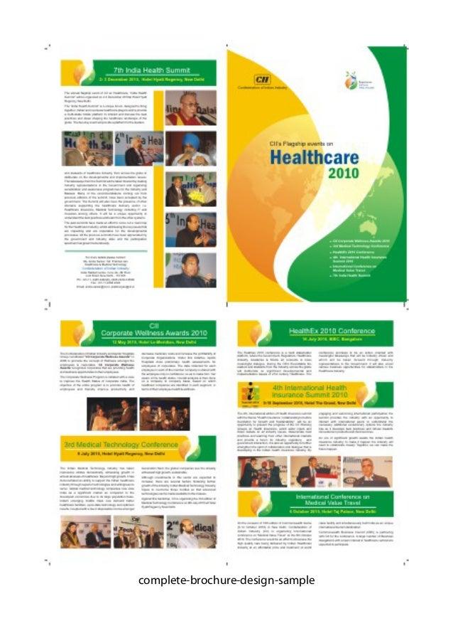 advertising brochures samples thevillas co