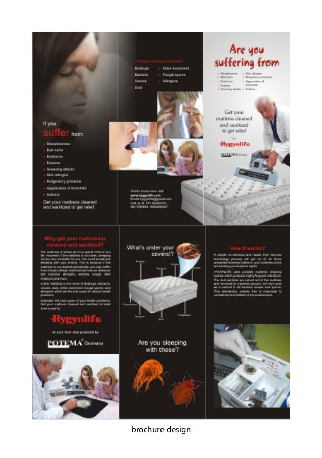 complete brochure design samples