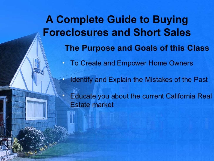 how to find foreclosures and short sales