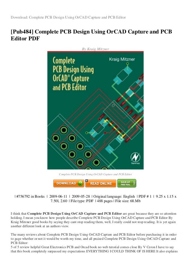 REVIEW Complete pcb-design-using-orcad-capture-and-pcb-editor-pdf-d14…
