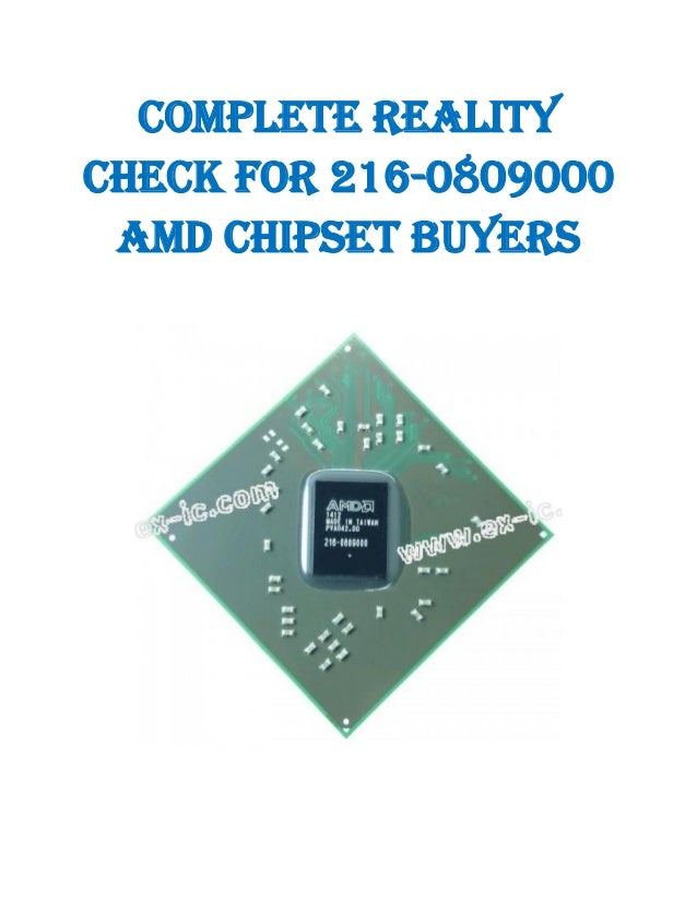 Complete Reality Check for 216-0809000 AMD Chipset Buyers