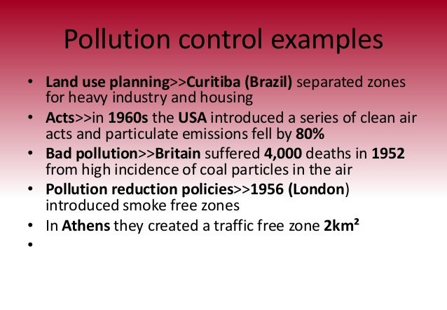 The Los Angeles Basin Pollution Problems Essay