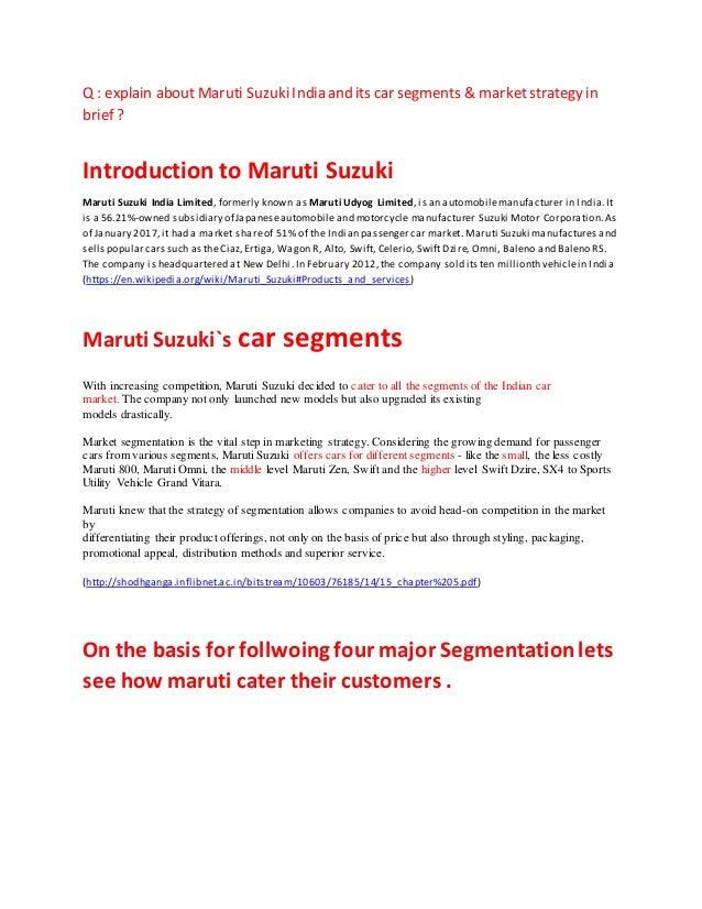 distribution strategy of maruti suzuki