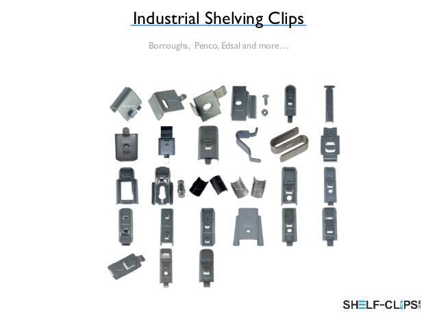 Industrial Shelf Clips