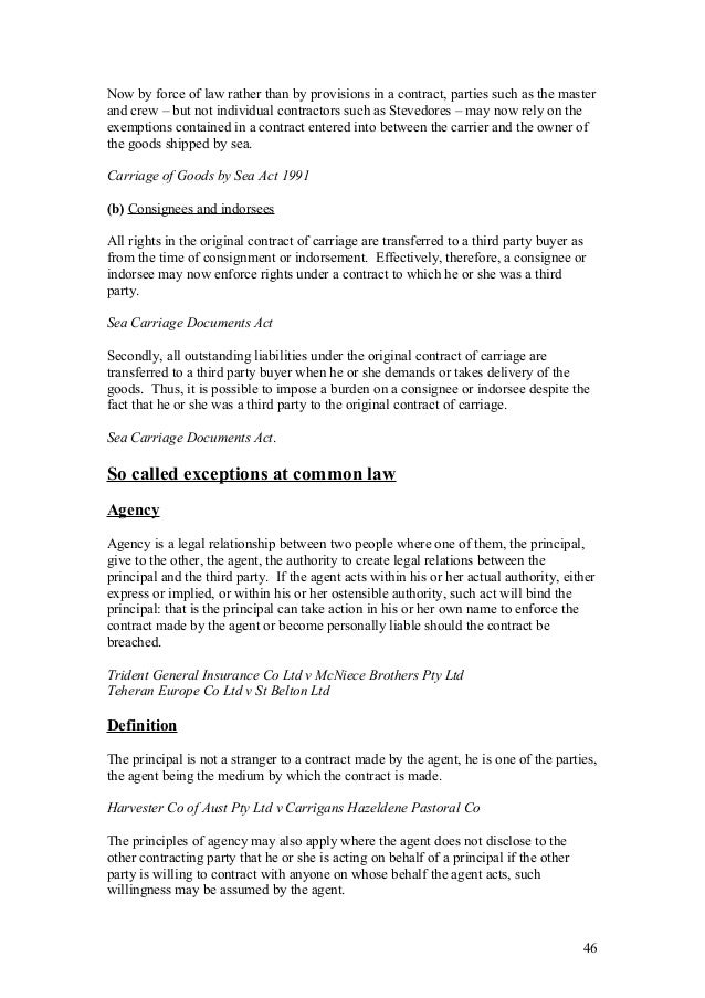 Complete contracts a study notes – Consignment Legal Definition