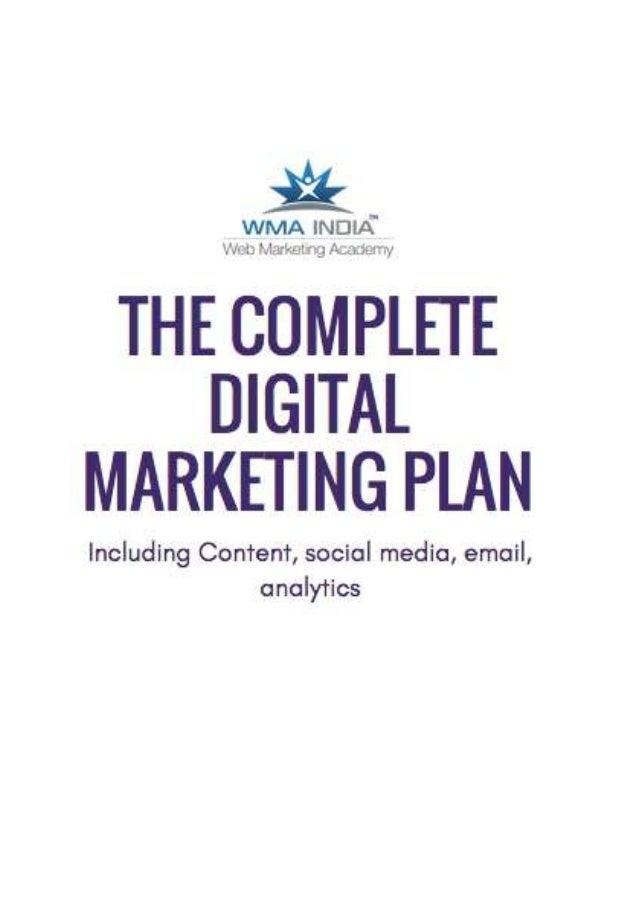 digital marketing plan a complete digital marketing. Black Bedroom Furniture Sets. Home Design Ideas