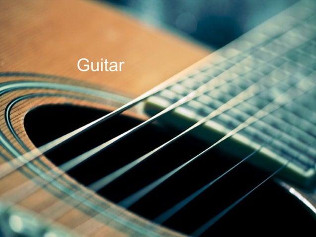 I like to play guitar Guitar