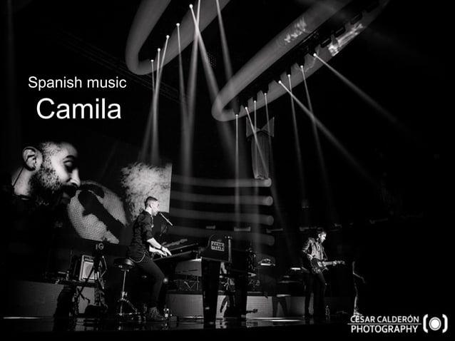 Spanish music camila Spanish music Camila