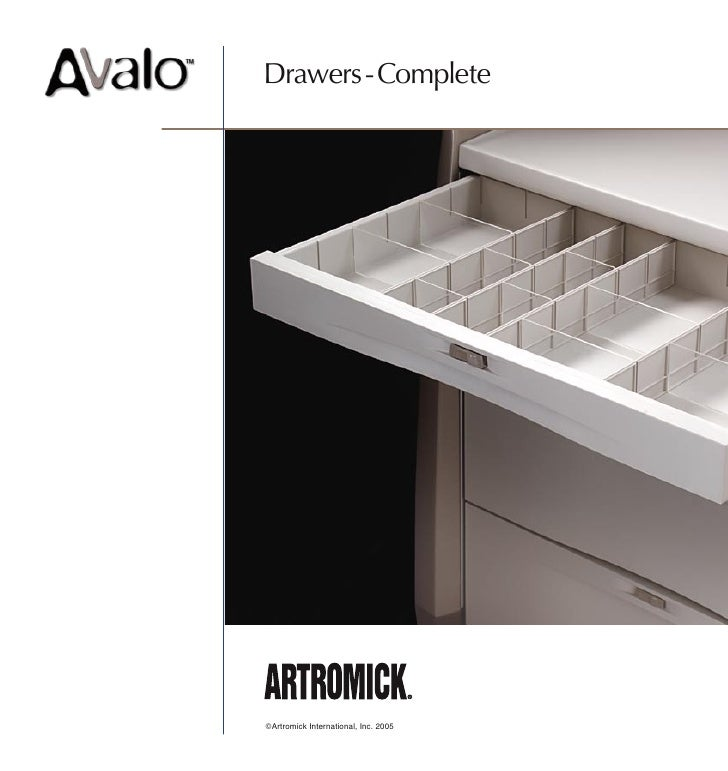 Drawers - Complete     ©Artromick International, Inc. 2005