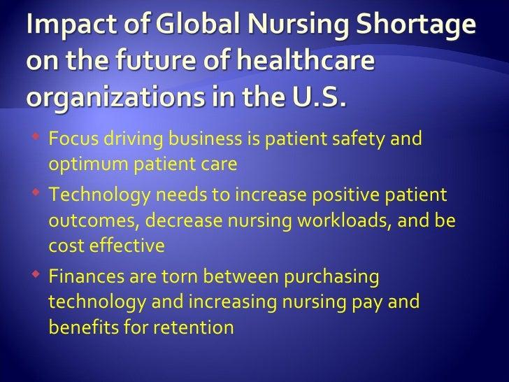 Impact of nurses shortage on hospital
