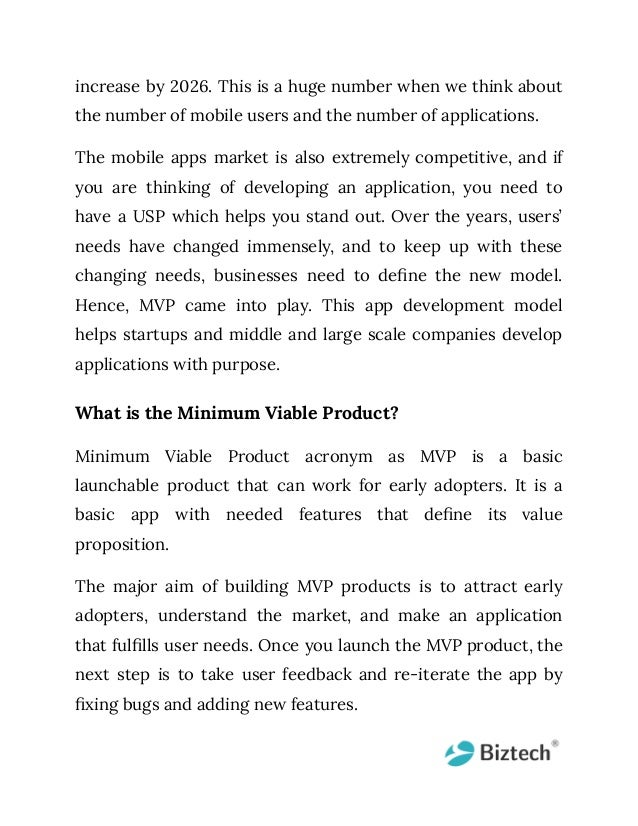 Complete guide on minimum viable product Slide 2