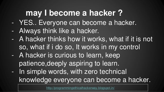 How To Learn Hacking - catb.org