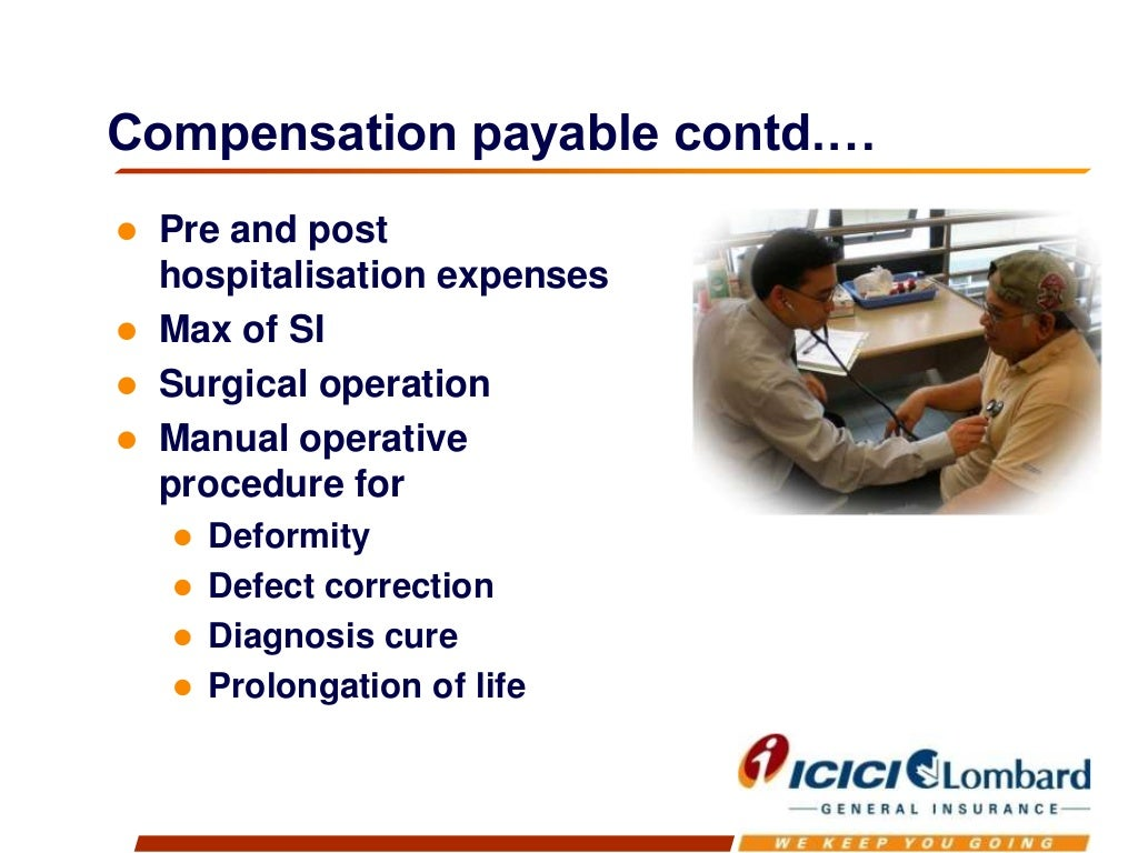 Complete health insurance policy (individual) from icici ...