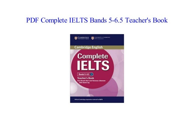 Cambridge English Complete Ielts Bands 5-6.5 Pdf