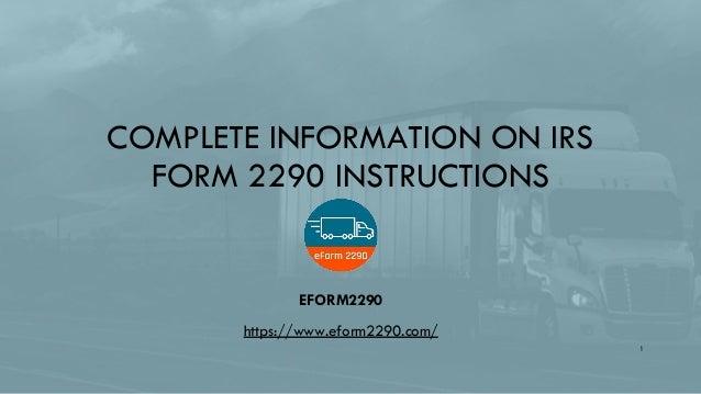 2290 form file online  File IRS form 9 online with eForm 9