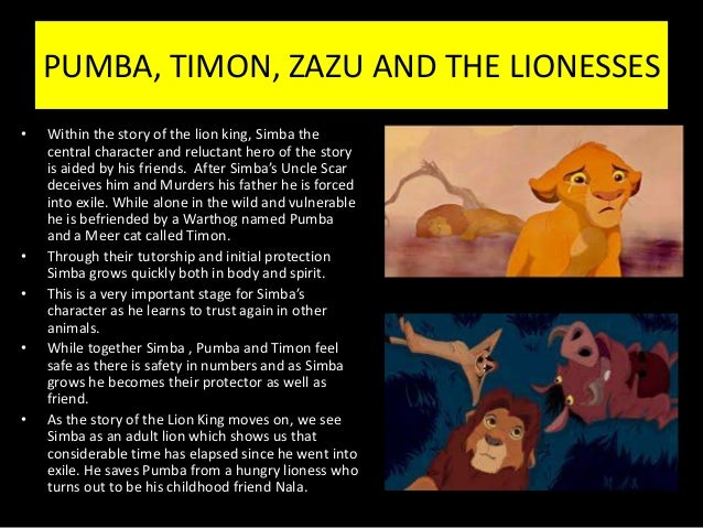 The lion king summary and analysis
