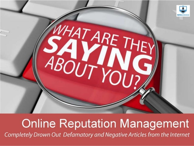 RepusuRance is an Online ReputatiOn ManageMent that gives seRvices tO individuals and Business. as we Realize that unMista...