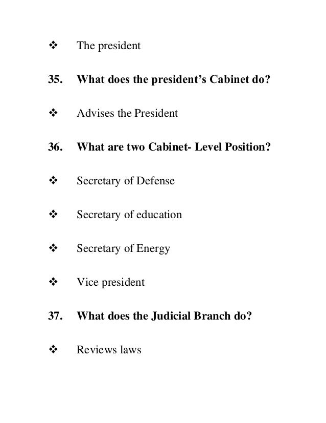 what is the presidents cabinet complete n 400 form 28311